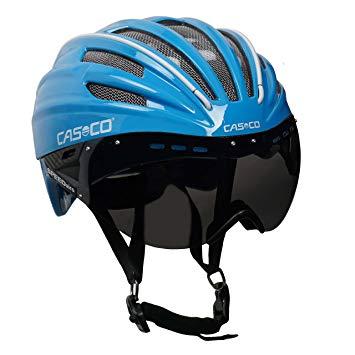 Casque velo casco visiere