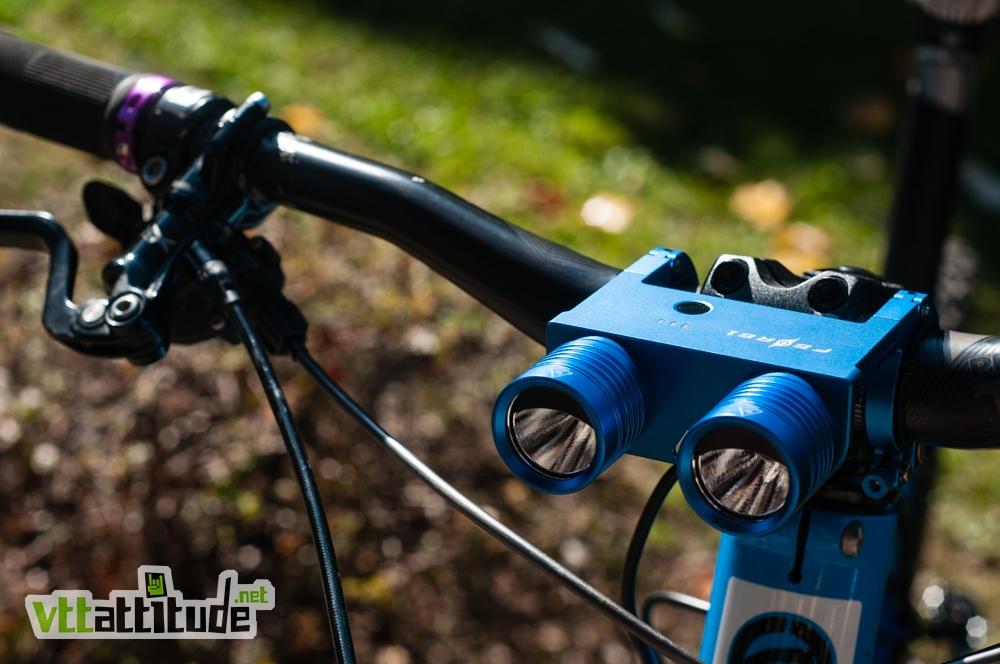 Casque vélo éclairé