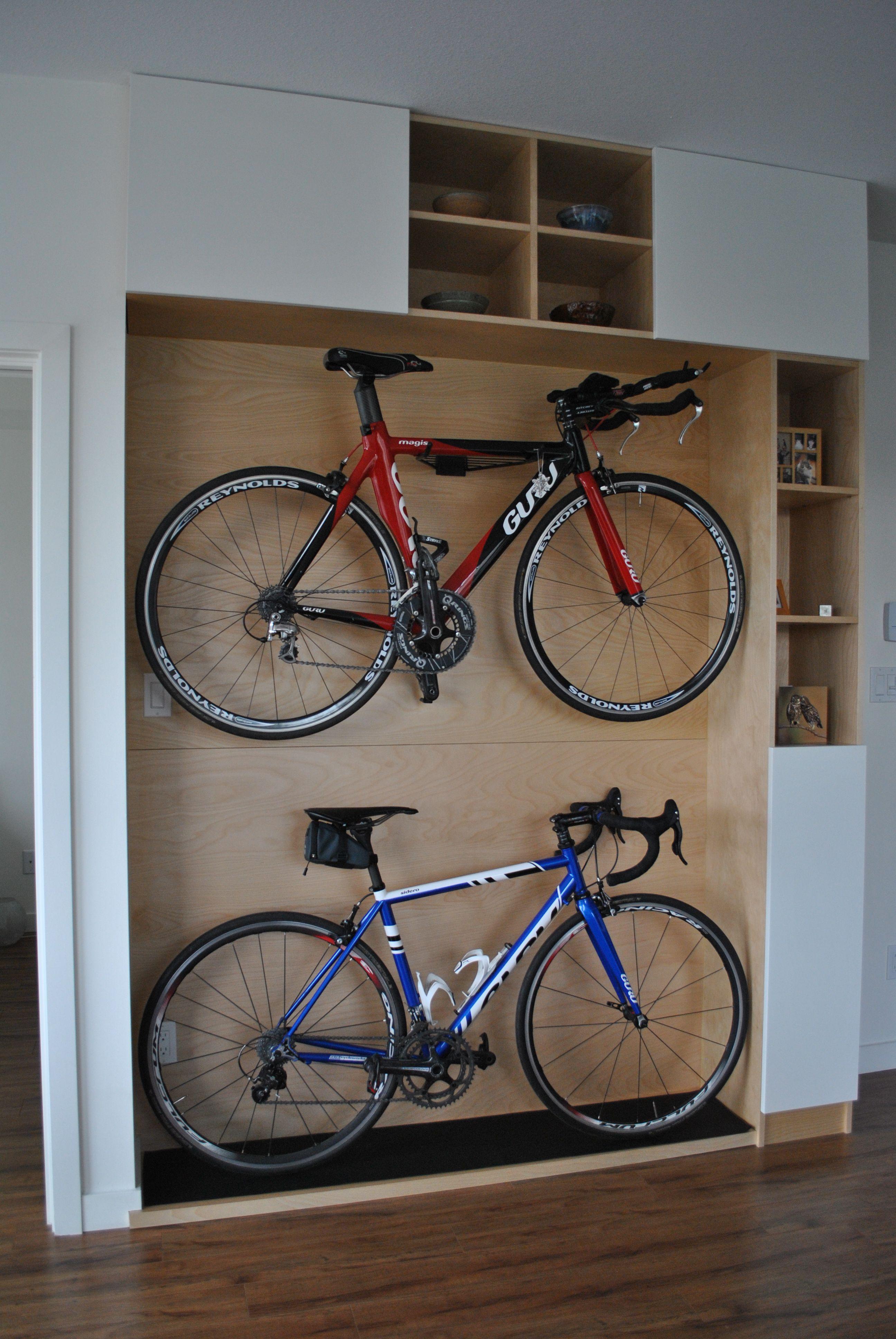 Solution rangement vélo appartement