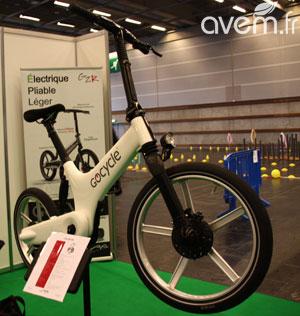 Vélo électrique pliant gocycle g2
