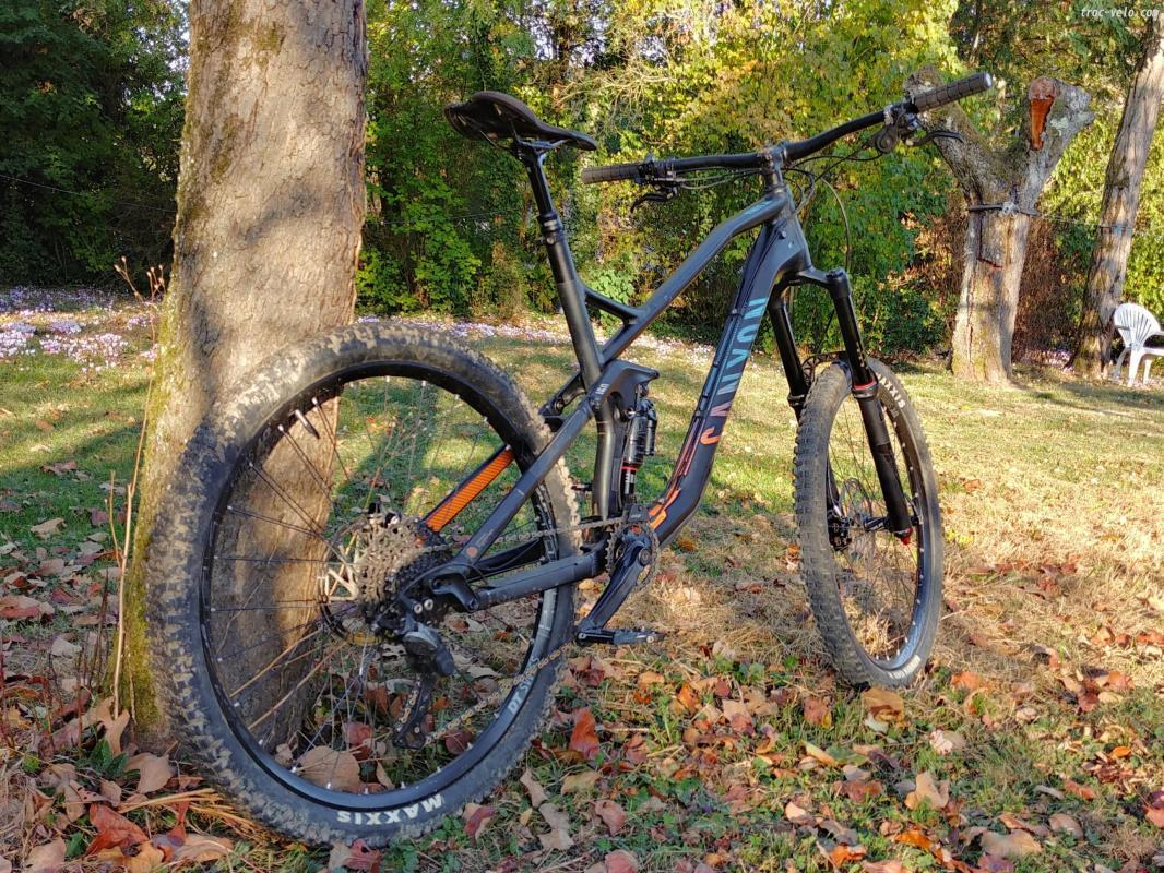 Velo vtt canyon occasion