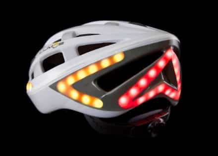 Led casque velo