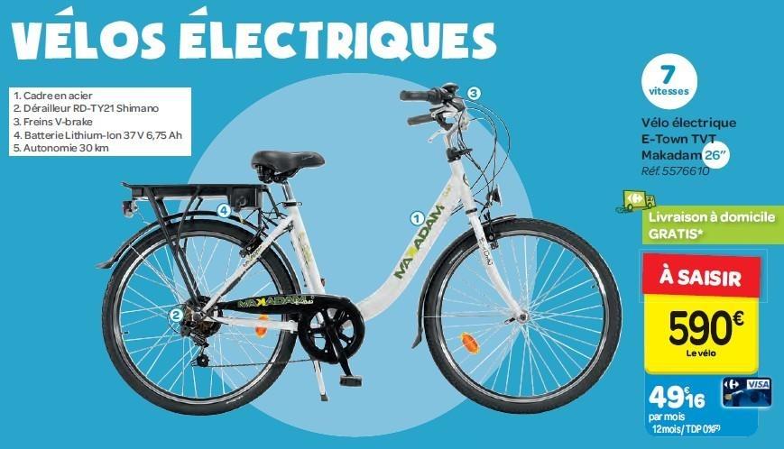 Velo electrique leclerc