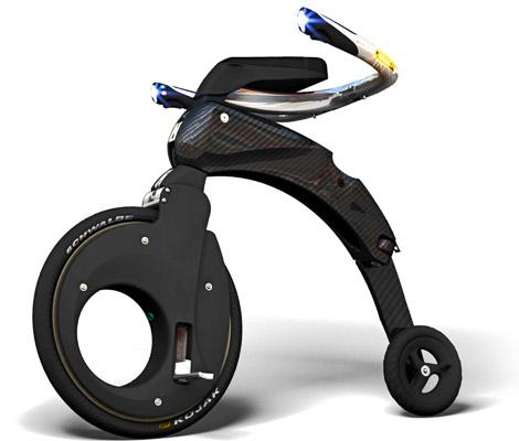 Vélo électrique pliable yikebike fusion