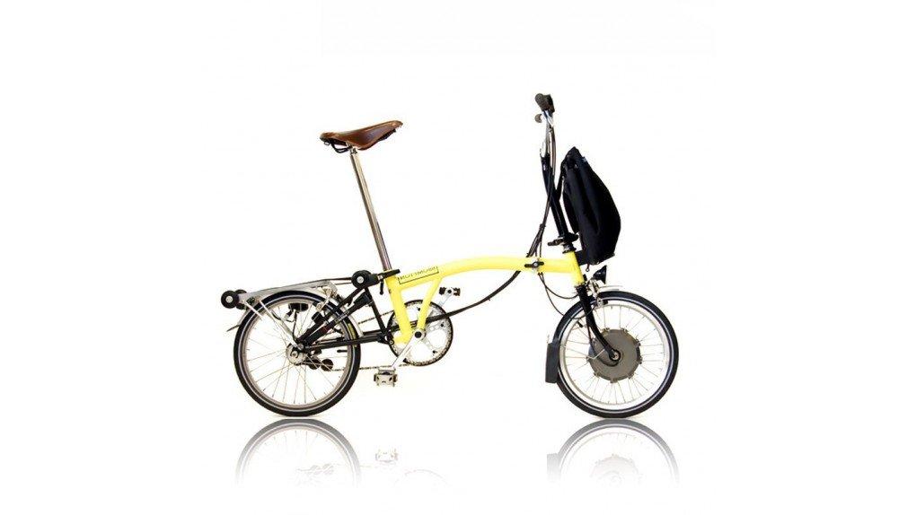 Vélo pliable électrique brompton