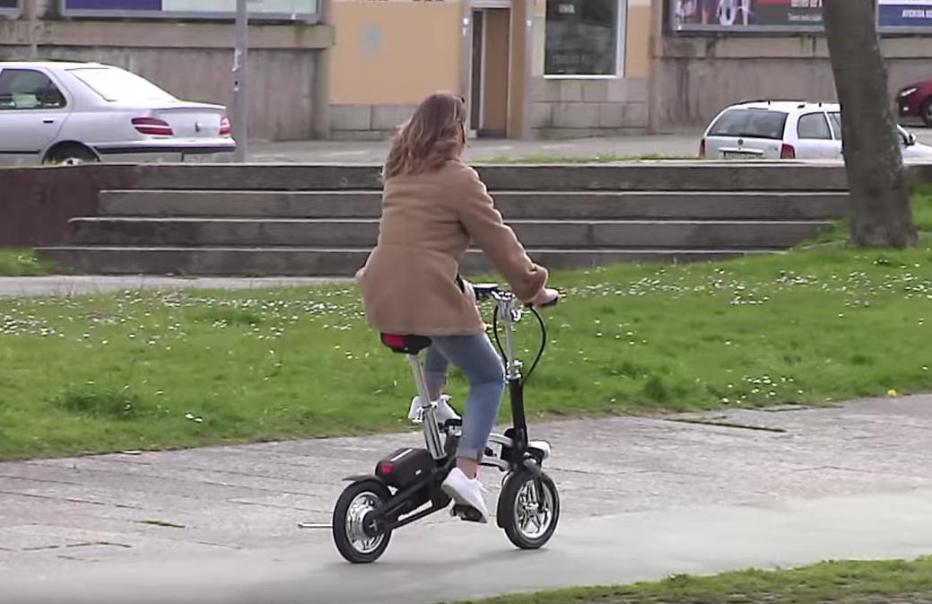 Vélo course pliant