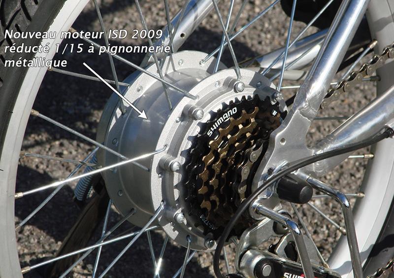 Vélo électrique pliable isd 618