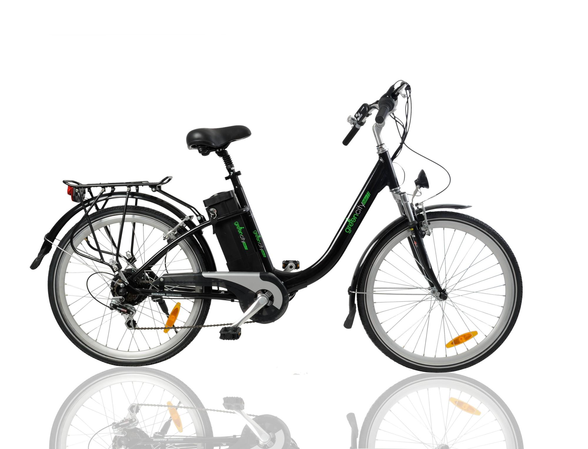 Vélo pliant électrique greencity monte carlo