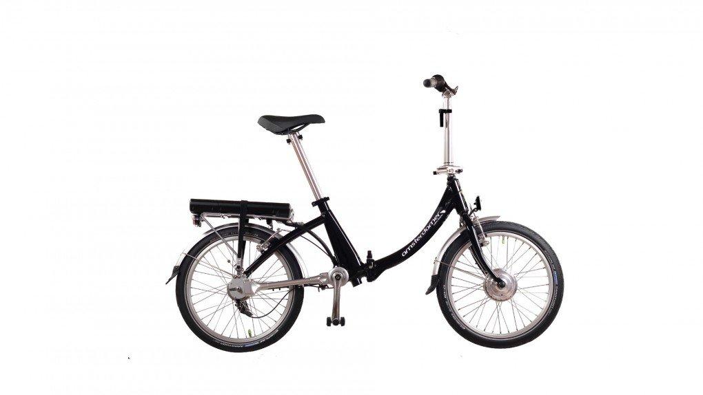 Vélo électrique pliable train