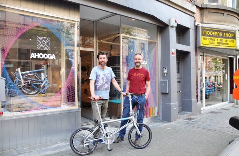 Vélo pliant tilt 120 b'twin
